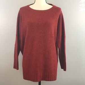 J Crew Collection DropShoulder Cashmere Sweater XL